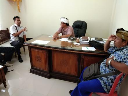 Kunjungan Tim Advokad BNNK Buleleng