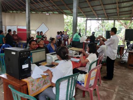 Pelayanan Akta Desa Tunjung
