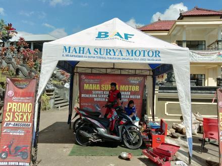 SERVICE KELILING MAHA SURYA MOTOR
