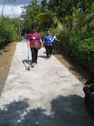 Inspektorat Kab. Buleleng Sambangi Desa Tunjung : Pengecekan Fisik dan Administrasi