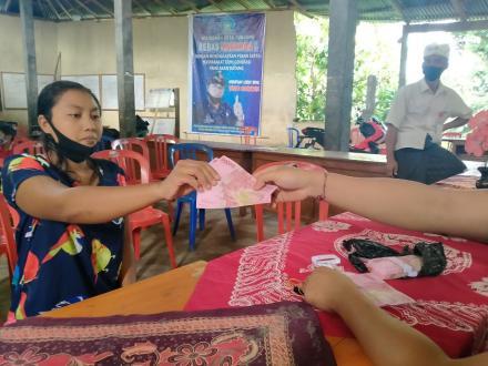 BLT DD Tahap 8 / 9 diDesa Tunjung