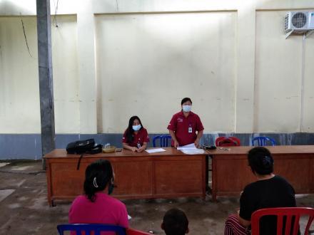 Pertemuan Awal dan Validasi Calon KPM PKH Desa Tunjung